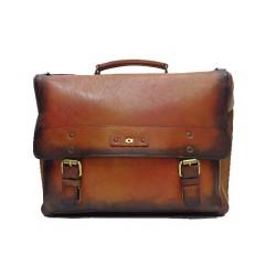 Skórzana torba na notebook...