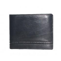 Męski skórzany portfel...